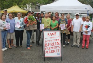 NEW FOR TUESDAY: Berlin Farmers Market Relocation Delayed; Mayor Admits He, Council Made Decision, Not Chamber