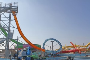 Amusement Park Adding Coast's Only Looping Waterslide