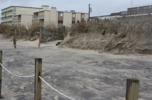 NEW FOR WEDNESDAY: Army Corps Finds Beach Fared 'Better Than Expected'