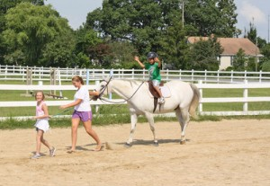 Berlin Horse Farm Provides Respite For Kids