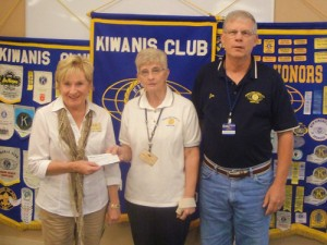 Kiwanis Club Of Greater OP-OC Donates To Worcester County G.O.L.D.