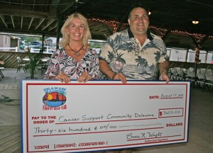 Cancer Support Community Delaware Accepts $3,600 Donation Check From Seashore Parrot Head Club