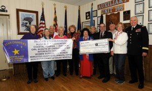 Star Charities Present $3K Check For Wounded Soldiers Of Maryland