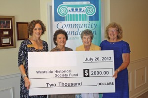 Westside Historical Society, Inc. Establishes Endowment Fund