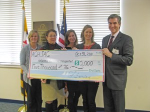 JAG Of AGH Presents $5,000 Donation