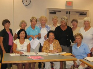 Worcester County Club Committee Met To Discuss Next Month's Standard Flower Show