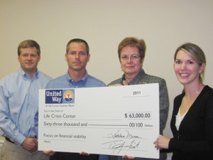 United Way Helps Life Crisis