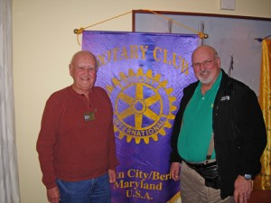 OC/Berlin Rotary Club President Welcomes Fellow Rotarians