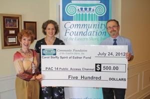 Carol Steffy Spirit Of Esther Fund Contributes $500 To PAC 14