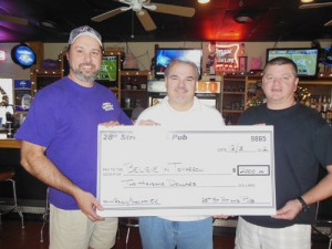Believe In Tomorrow Foundation Receives $2,000 Check From Pit-N-Pub