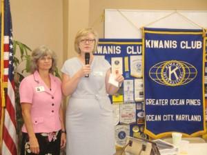 Capen, McNeill Address Kiwanis Club