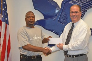 Nicmar Youth Connection Enterprises Presents SD HIgh With $200 Check