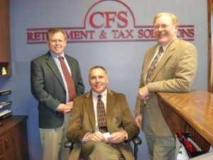 CFS Retirement & Tax Solutions Presents Wicomico Habitat For Humanity With $2,000 Check