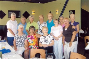 Sisters of XI Beta Epsilon Sorority Hosted Their Sister Jeanne Leroy