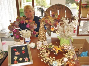 Pine'eer Craft Club Member Diane St. Clair Honored As August Crafter Of The Month