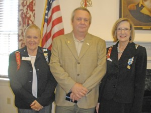 Retired National Guardsman Featured Speaker At General Levin Winder Chapter Meeting