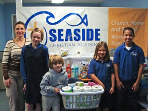 Seaside Christian Academy's Mission For November Was Diakonia
