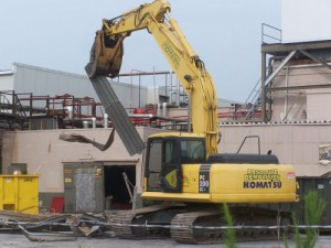 Demolition Begins With Property's Future In Doubt