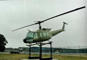 Huey Helicopter Now Featured At OC Airport