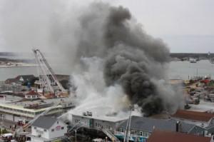 Monday, March 31 – Boardwalk Fire Destroys Businesses