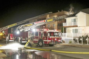 No Injuries Reported In North OC Fire