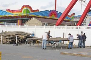 'No Major Surprises' With Boardwalk Project
