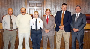 OCPD Chief's Changes OK'd; Retirees Honored