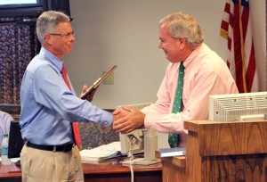 OC Honors Retiring Planning Head