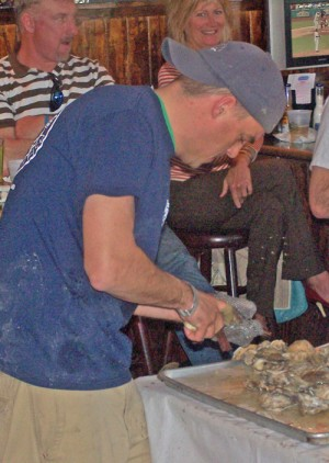 Oyster Shucking Contest On Tap