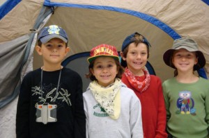 2nd Graders at OC Elementary enjoy Camping Day