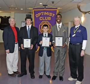 OC/Berlin Optimist Club Announces Essay Contest Winners