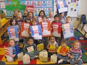 Pre-K Students From OC Elementary Celebrate Dr. Seuss' Birthday