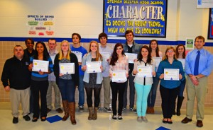 SD High History Department Recognizes Top Writers From Fall Semester