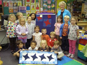 Showell Elementary Students Learn About Quilting
