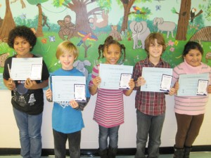 Buckingham Elementary Announces February Students Of The Month
