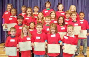 OC Elementary Honors November Students Of The Month