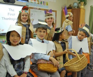 Worcester Prep Second Grade Students Celebrate First Thanksgiving In Style