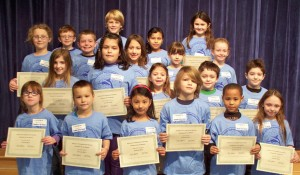 OC Elementary Honors January Students Of The Month