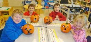 OC Elementary Students Show Off Their Pumpkin Creations