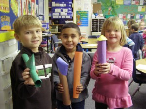 Showell Elementary Students Make 3D Models