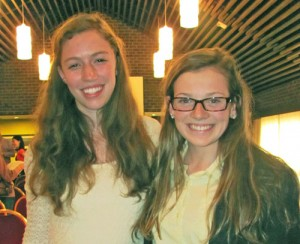 Stickler, Riley Top Winners In Young Authors Poetry Competition