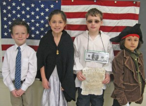 OC Elementary Students Dress Up To Present Reports