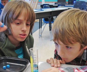 OC Elementary Students Attempt To Determine Formula