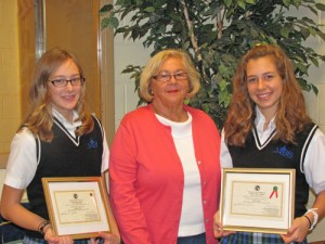 Most Blessed Sacrament Catholic School Students Recognized By Worcester County Garden Club