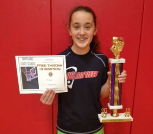 Mitrecic Wins Knights Of Columbus State Basketball Free Throw Contest