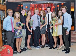 Worcester Prep's Homecoming Court