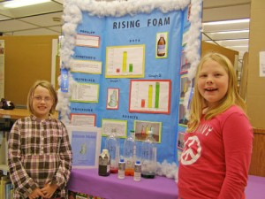 SH Elementary Students Win First Place In School Science Fair