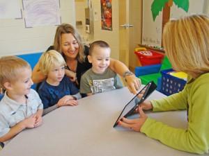 OC Elementary Students Practice Imitative Speech
