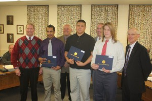 Worcester Board Of Education Recongnizes Several Scholar-Athletes