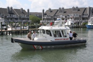 Resort Adds Fire Boat To Public Safety Fleet